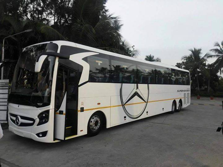 Hire the best quality Mercedes Benz Buses