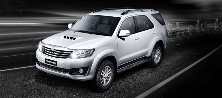 Hire the best quality Toyota Fortuner